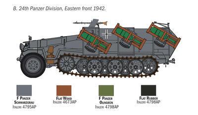 Sd.Kfz. 251/1 Wurfrahmen 40 Stuka zu Fuss - 3