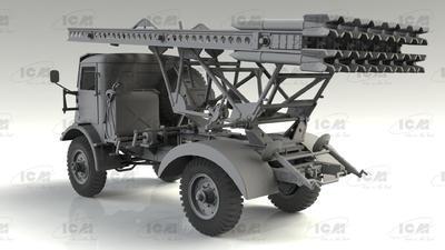 BM-13-16 on W.O.T. 8 chassis, WWII Soviet MLRS - 3