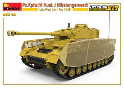 Pz.Kpfw.IV Ausf. J Nibelungenwerk Late Prod. (Jan – Feb 1945) INTERIOR KIT - 3