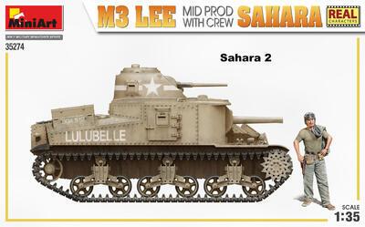 M3 LEE MID PROD. SAHARA w/CREW - 3
