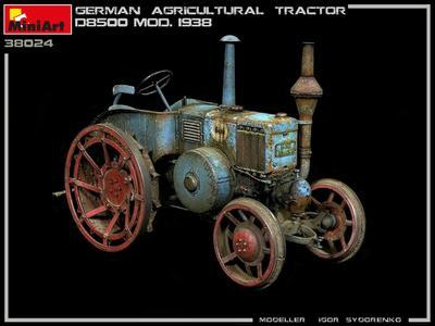 GERMAN AGRICULTURAL TRACTOR D8500 MOD. 1938 - 3