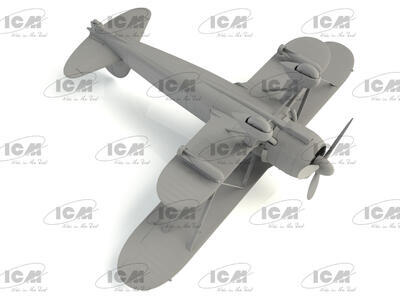 Fiat CR 42AS Falco Iatlian WWII Fighter -Bomber - 3