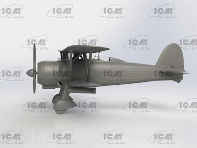 Fiat CR 42AS Falco Iatlian WWII Fighter -Bomber - 3