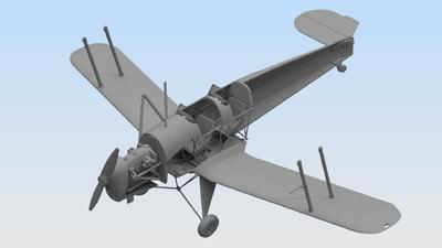 Bücker Bü 131B German Training Aircraft - 3