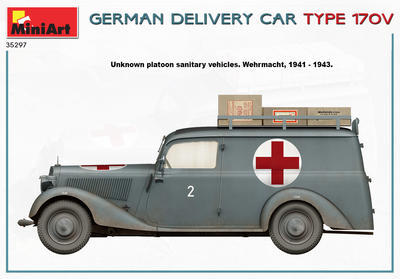 GERMAN DELIVERY CAR TYPE 170V - 3