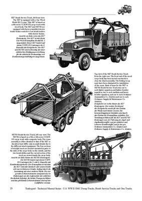 TM U.S. WWII GMC CCKW 2 1/2 ton 6x6 Dump Truck,..... - 3