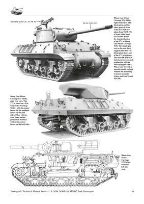 M36, M36B1 & M36B2 Tank Destroyers  - 3