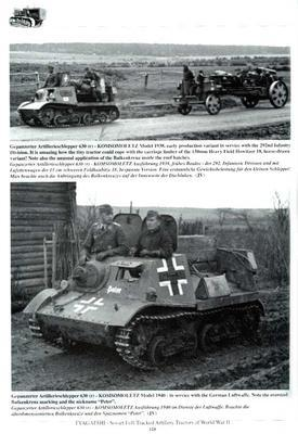 Tyagatshi Soviet Artillery Tracktor in Red army and Wermacht service in WWII - 3