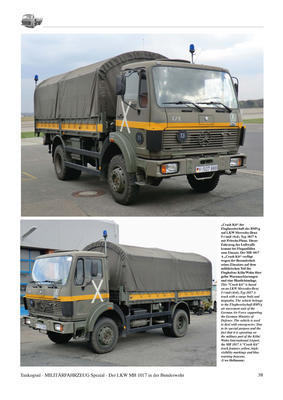 MB 1017 The Mercedes-Benz 5-ton Trucks Type 1017/1017A - History, Variants, Service - 3