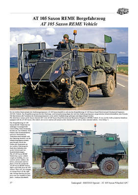 AT 105 SAXON Wheeled Armoured Personnel Carrier  - 3