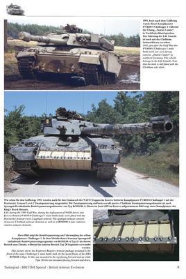 British Armour Evolution  - 3