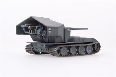 German WWII E-100 Panzer Weapon Carrier with 128mm Gub, 1946 - 3