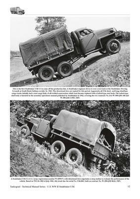 U.S. WWII Studebaker US6 2 1/2-Ton 6x6 & 6x4 Trucks - 3