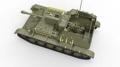 SU-76M with Crew - 3