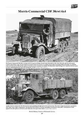 British Military Truck in Wehrmacht Service - 3