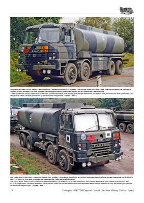 British Cold War Military Trucks - FODEN Commercial Pattern Low Mobility, Medium Mobilit  - 3