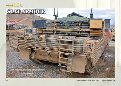 Leopard 2A4M CAN Canadian Main Battle Tank  - 3