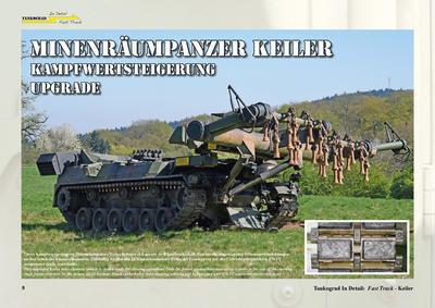 Keiler German Mine-Clearing Tank - 3