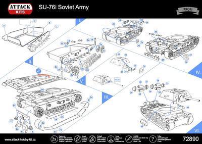 SU-76i Soviet Army - 3