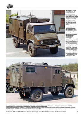 Unimog 1,5-Tonner 'S' The Legendary 1.5-ton Unimog Truck in German Service Part 3 - Box  - 3