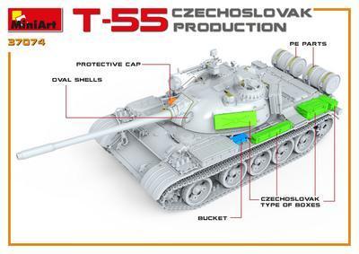 T-55 Czechoslovak Production  - 3