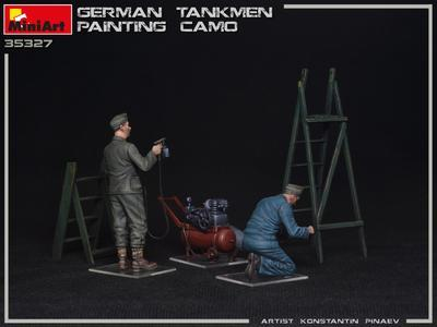 GERMAN TANKMEN CAMO PAINTING - 3