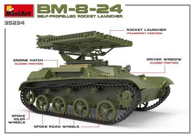 BM-8-24 Self-Propelled Rocket Launcher - 3