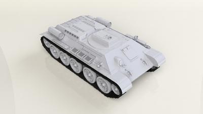 """T-34 """"Taygach"""" Model 1944 - 3"""