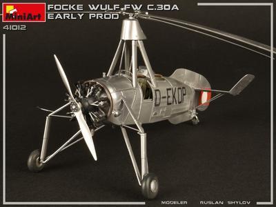 Focke -Wulf FW C.30A Heuschrecke Early prod.  - 3