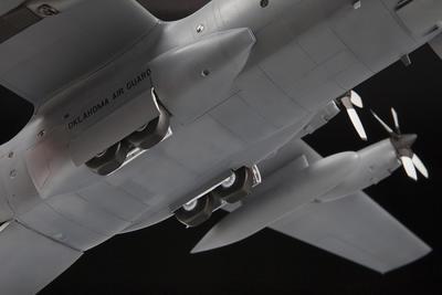 American heavy transport plane Lockheed C-130H Hercules  - 3