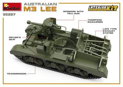 Australian M3 Lee Interior Kit - 3