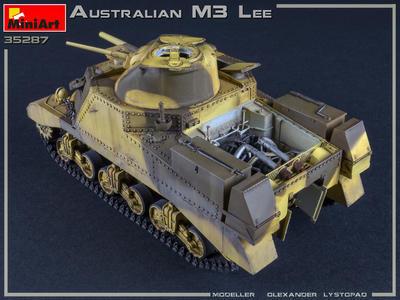 Australian M3 Lee Interior Kit - 3