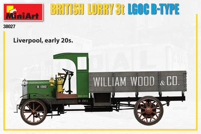 British Lorry 3T LGOC B-Type - 3