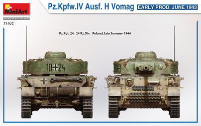 Pz.Kpfw.IV Ausf. H Vomag. EARLY PROD. JUNE 1943 - 3