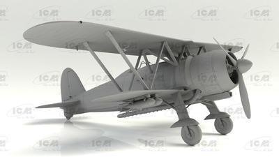 Fiat CR. 42 LW Falco, WWII German Luftwaffe Ground Attack Aircraft - 3