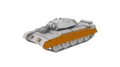 Crusader Mk.II British Cruiser Tank - 3