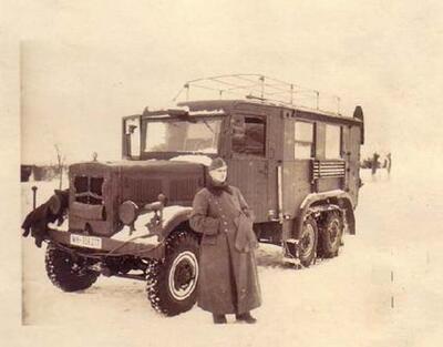 Funkkraftwagen Kfz.62 (Radio truck) - 3