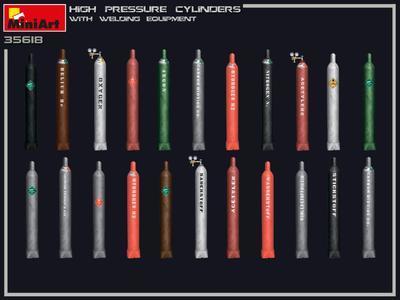 High Pressure Cylinders w/Wlding Equipment - 3