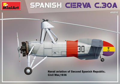 SPANISH CIERVA C.30A - 3
