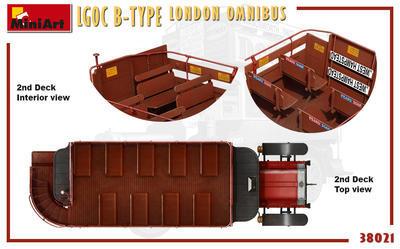 LGOC B-Type London Omnibus - 3