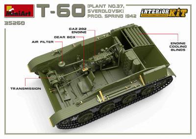 T-60 Plant N.37 Sverdlovsk Prod. Spring 1942 - 3