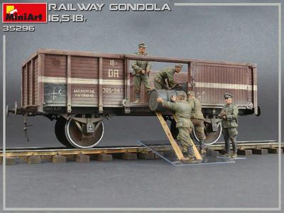 Railway Gondola 16,5-18t - 3