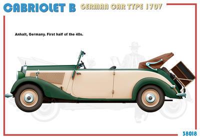 Cabriolet B Type 170V German Car  - 3