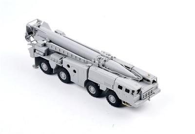 Soviet 9P117 Strategic Missile Luncher SCUD C  - 4