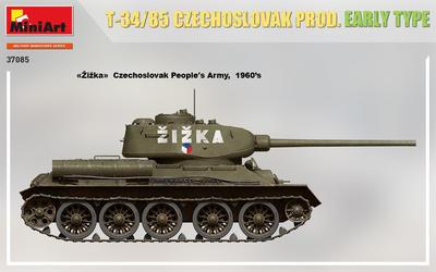 T-34/85 CZECHOSLOVAK PROD. EARLY TYPE - 4