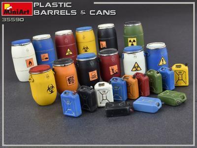 Plastic Barrels & Cans - 4