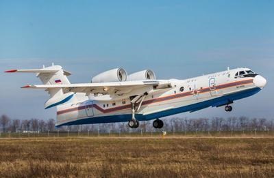 Beriev BE -200ES Russian Multi-Role Amphibious Aircraft - 4