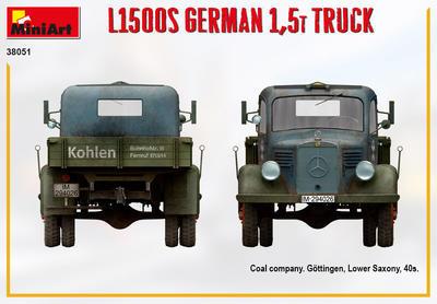L1500S GERMAN 1,5T TRUCK - 4