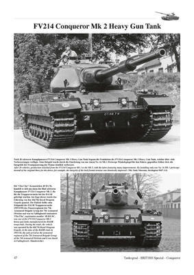 Conqueror Heavy Gun Tank Britain's Cold War Heavy Tank  - 4