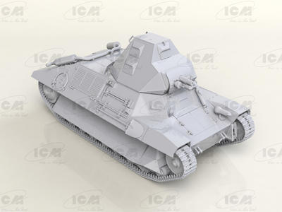 FCM 36, WWII French Light Tank - 4